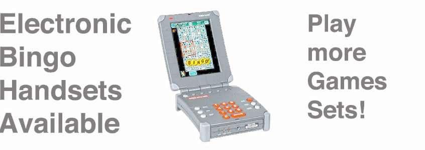 Electronic Bingo Machines