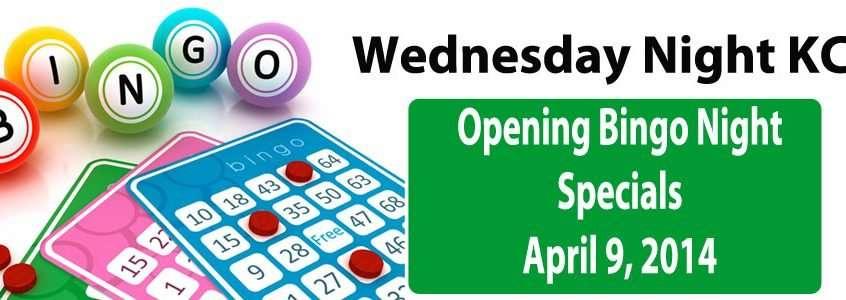 Opening Night Bingo Specials