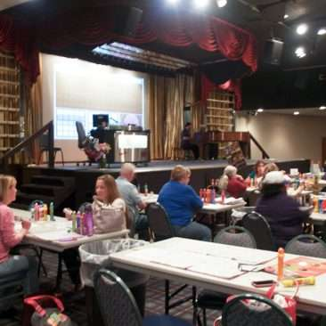 bingo hall stage picture