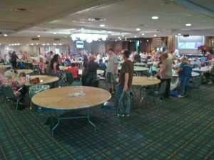bingo hall corner view at Finnigan's Hall