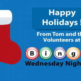 Happy Holidays 2018 from bingowednesdaynightkc.org