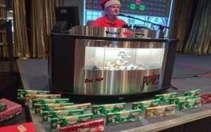 kansas city bingo player wrapped presents