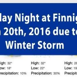 bingo cancelled jan 20th 2016