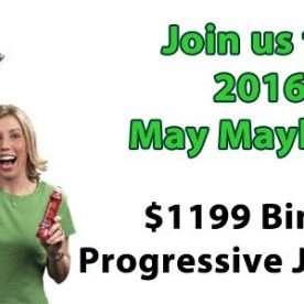 Bingo Progressive Jackpots during May 2016