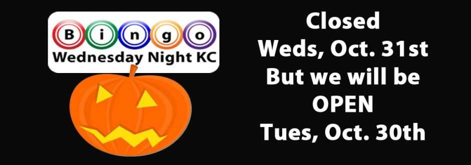 Play Bingo Tuesday Night!