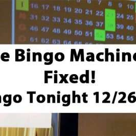 Bingo Machine Fixed