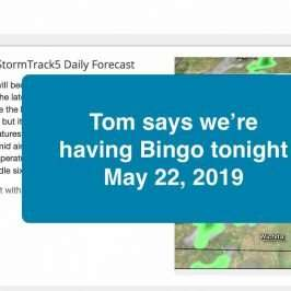 bingo tonight may 22 2019