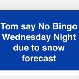 bingo cancelled jan 22