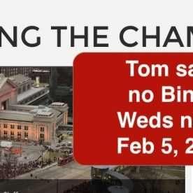 bingo cancelled feb 5th 2020