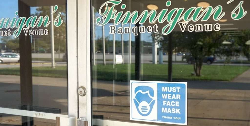 wear face mask at finnigan's hall - See our bingo reopening July 22, 2020 photos