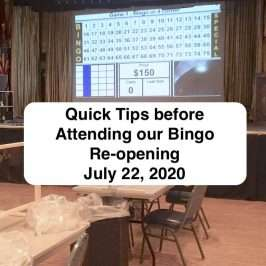 Tips before attending bingo