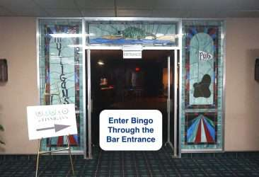 bingo covid-19 safety measures - Entrance