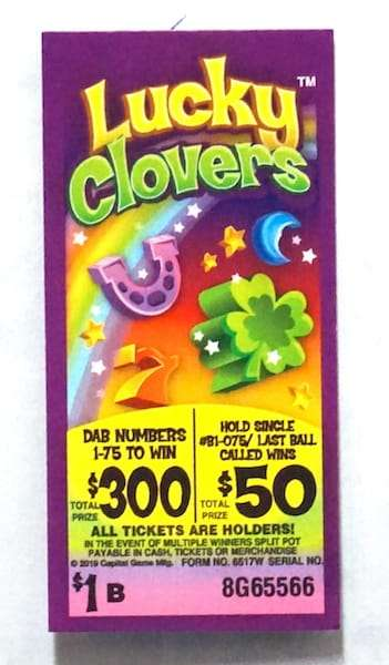 lucky clovers - All play event tabs - Oct 2020