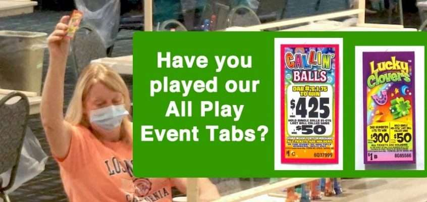 New! All Play Event Tabs October 2020