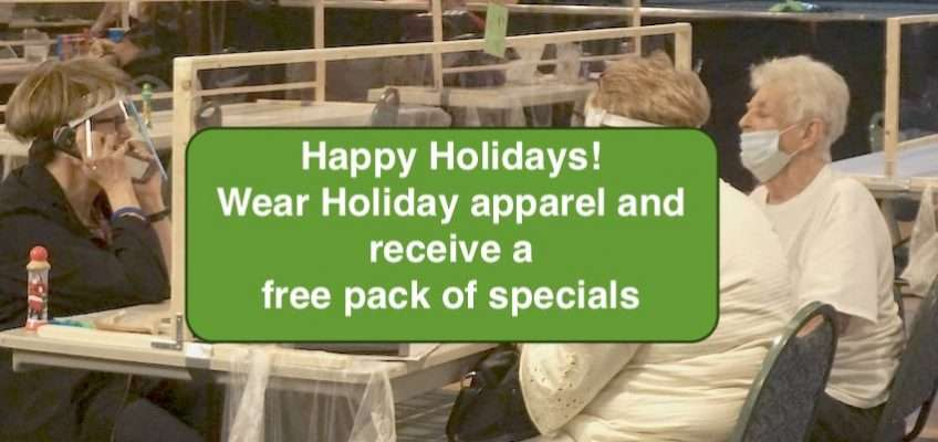 happy holiday 2020 pack specials