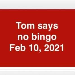 cancelling bingo feb 10th 2021 image