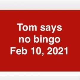 cancelling bingo feb 10th 2021 image