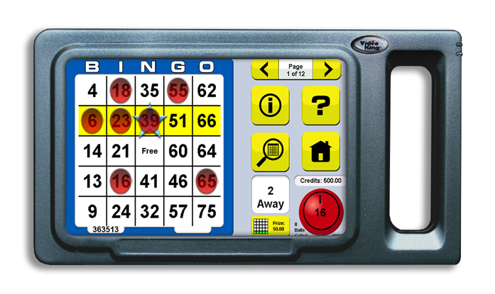 play tab-e bingo gaming tablet - device picture
